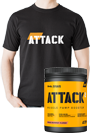 Body Attack ATTACK - 600g +  ATTACK T-Shirt *Aktionspaket*