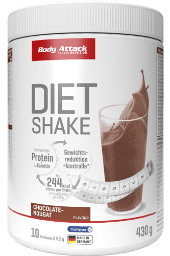 Body Attack Diät Shake - 430g