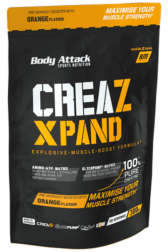 Body Attack CREAZ XPAND Creatine-Booster - 300g