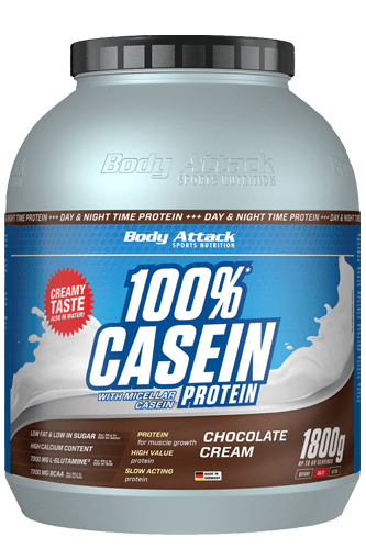 Body Attack 100% Casein Protein - 1,8kg