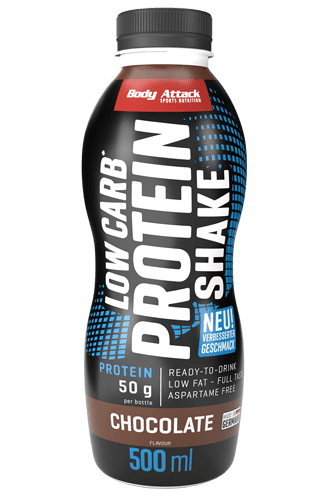 Body Attack Low-Carb* Protein Shake - 500ml