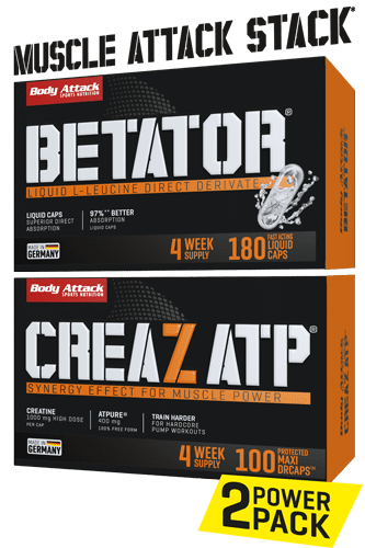 Body Attack Muscle Attack Stack