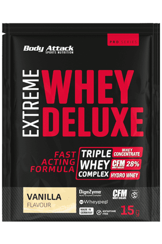 Body Attack Extreme Whey Deluxe - 15g Probe